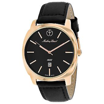 Mathey Tissot Men's Smart Black Dial Watch - H6940PN