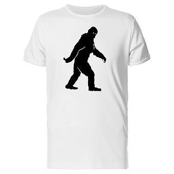 Bigfoot Silhouette T-Shirt Herren-Bild von Shutterstock