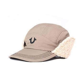 True Religion UK Earflap Khaki Caps