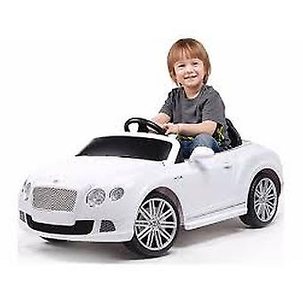 Rastar Bentley GTC Remote-Controlled 12V Battery Powered Ride-On Car, White