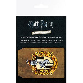 Harry Potter Official Hufflepuff Design Travel Card Wallet