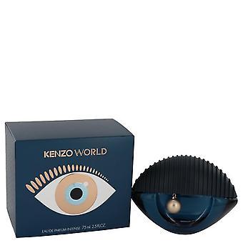 Kenzo World Eau De Parfum Intense Spray By Kenzo 2.5 oz Eau De Parfum Intense Spray
