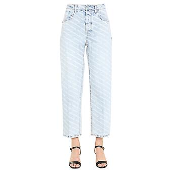Alexander Wang.t 4dc22204717270 Women's Light Blue Cotton Jeans