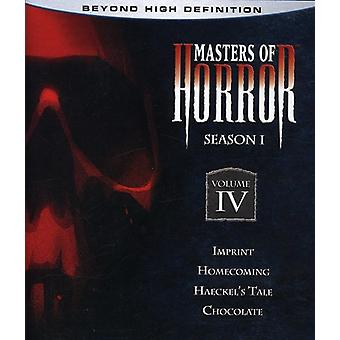 Masters of Horror - Masters of Horror: säsong 1 [Blu-ray] [BLU-RAY] USA import