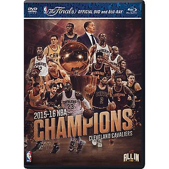 NBA: Champions 2015-2016 [DVD] USA import
