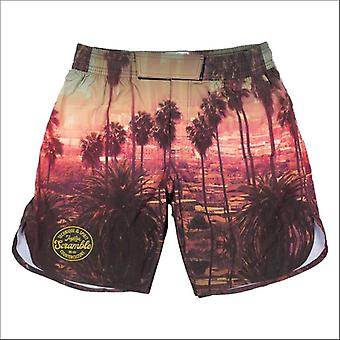 Scramble cali grappling shorts