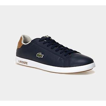 לקוסט Mens בוגר Lcr3 118 1 Spm Nvy/Lt Brw עור מאמנים נעליים מגפיים