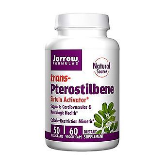 Trans-Pterostilbene 50Mg 60 vegetable capsules