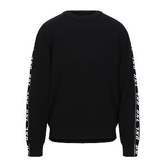 Diesel DSL Taping Black Sweater