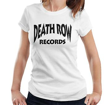 Death Row Recrods Logo Black Women's T-Shirt