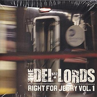 Del Lords - Right for Jerry 1 [CD] USA import