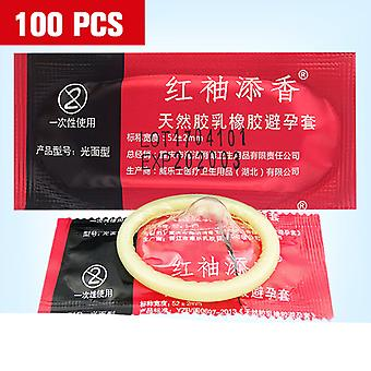 Condoms Ultra Thin Large Oil Sex Tool For Men/ Adult 100pcs