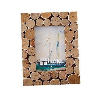 Wooden Pastoral Picture Photo Frame