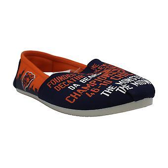 Forever Collectibles NFL Womens Football Ladies Canvas Slip-On Chaussures d'été -...
