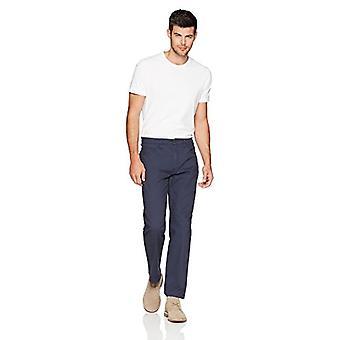 Goodthreads Miehet's Athletic-Fit 5-Pocket Chino Pant, Navy, 29W x 32L