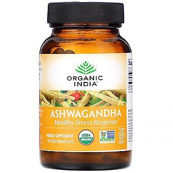 Organic India, Ashwagandha, 90 Vegetarian Caps