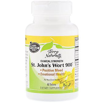 Terry Naturally, St. John's Wort 900, 60 Tablets