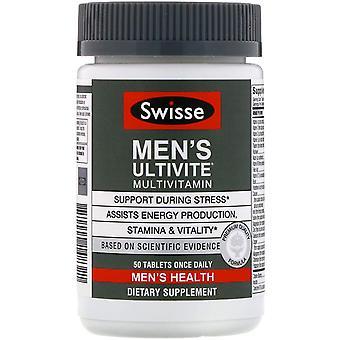 Swisse, Men's Ultivite Multivitamin, 50 Tablets