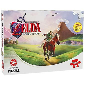 The Legend Of Zelda Ocarina Of Time 1000 Pieces Puzzle