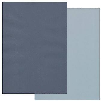 Papier parchemin Groovi A4 Deux tons Bleu bleu bleu-ciel