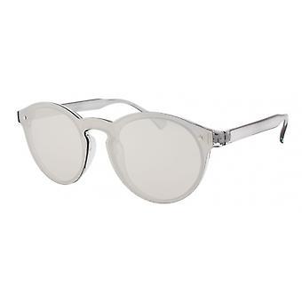 Sunglasses Unisex Cat.3 Transparent / Grey Silver (AMU19206 B)