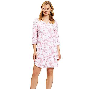 Rösch 1203161-15649 Women's New Romance Toile de Jouy Pink Nightdress