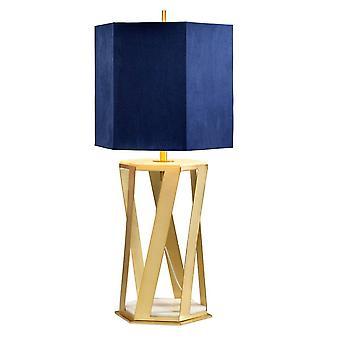 1 Ljus bordslampa Borstad Mässing, E27