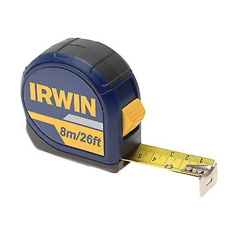 IRWIN Standard Pocket Tape 8m/26ft (Width 25mm) Carded IRW10507789