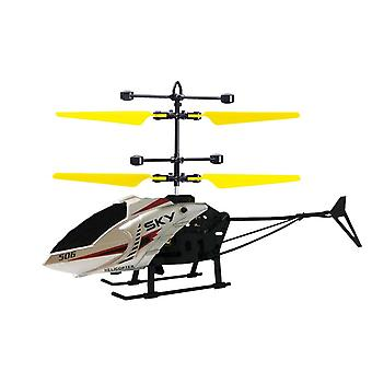 Remote Control Helicopter With Light Usb Charging Low Noise Toys