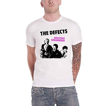 The Defects T Shirt Defective Breakdown Band Logo new Official Mens White