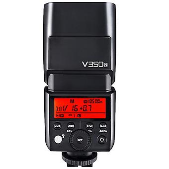 Camera Flash Godox V350-n Ttl For Nikon 2.4g 1/8000