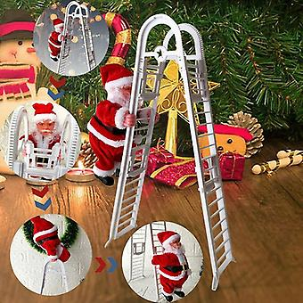 Christmas Santa Claus Music- Electric Climbing Ladder Hanging Kids Party