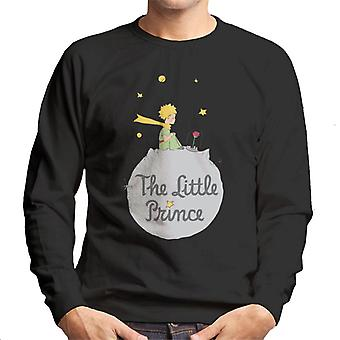 The Little Prince Asteroid Logo Men's Sweatshirt