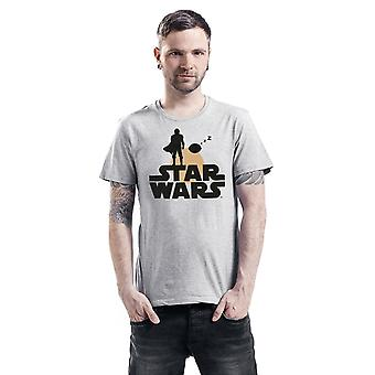 Star Wars: The Mandalorian Unisex Adult Silhouette T-Shirt