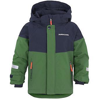 Didriksons Lun Kids Jacket | Leaf Green