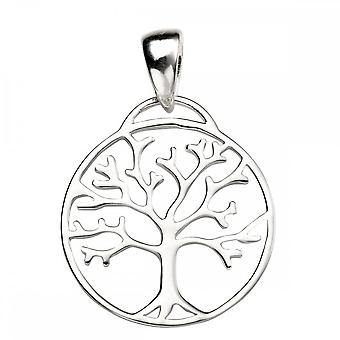 Beginnings Sterling Silver P4471 Tree Of Life Cutout Pendant