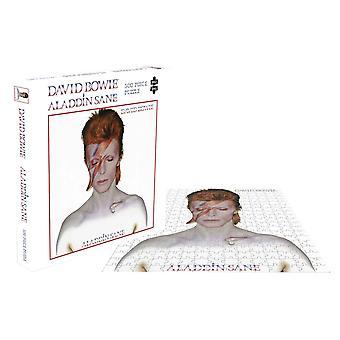 David Bowie Jigsaw Puzzel Aladdin Sane Album Cover nieuwe officiële 500 Stuk