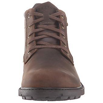 Rockport Men's Schoenen A13505-001 Nubuck Gesloten Toe Enkel Veiligheidslaarzen