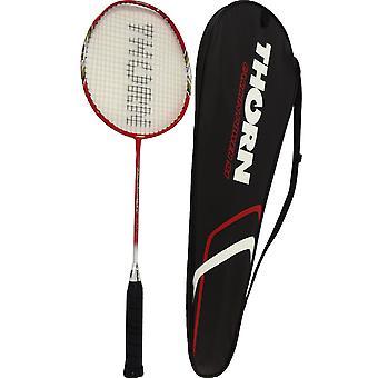 Badmintonracket in een Thorn 91 koffer