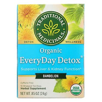 Traditional Medicinals Teas Everyday Detox Dandelion, 16 Bag
