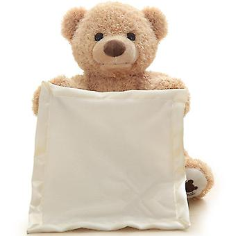 Electric Teddy Bear, Movable Plush Toy - 2 Languages Speaking