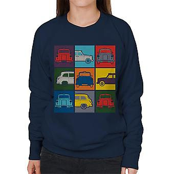 London Taxi Company Colourful Angles Women's Sweatshirt