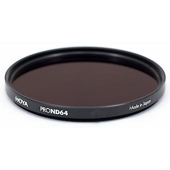 Hoya 72 mm pro nd 64 filter
