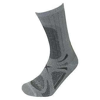 Lorpen Trekker Socks T3 All Season Grey Medium UK Size 6 - 8 (EU Size 39 - 42)