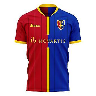 FC Basel 2020-2021 Home Concept Football Kit (Libero)