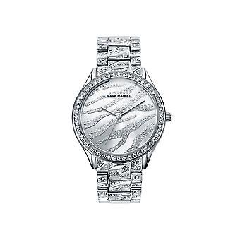 Mark maddox watch trendy silver. 38 mm mm6006-80