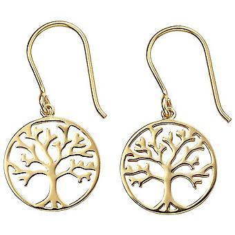 Beginnings Tree of Life Earrings - Gold