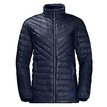 Jack Wolfskin Womens Vista Jacket Padded Quilted Coat Navy 1204081 1910