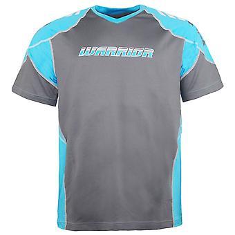 Warrior Lyhythihainen V-pääntie Harmaa T-paita Miesten Pusero WPTM305 AST