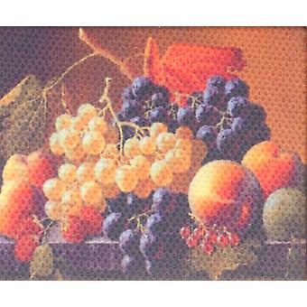 Dolls House Still Life Fruit Bowl Kuva maalaus kangas Miniatyyri lisävaruste